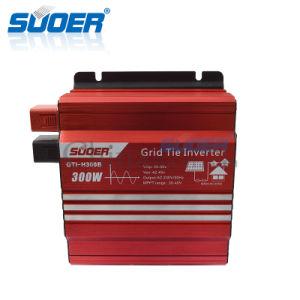 Suoer 24V 220V 300W Grid Tie Solar Power Inverter (GTI-H300B) pictures & photos