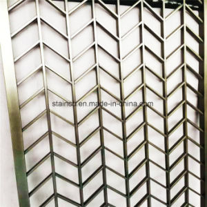Aluminium Perforated Carved Decorative Metal Panel for Screen pictures & photos