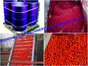 Export Standard Tomato Paste Concentrate Brix 28-30% in Drum pictures & photos