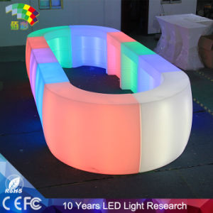 Hot Selling Polyethylene Nail LED Bar Furniture pictures & photos