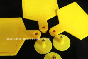 Livestock Animal RFID Cattle Ear Tags Duck/Pigeon/Cow/Chicken Plastic Passive Tracking pictures & photos