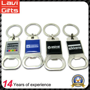 Promotional Printing Logo Bottle Opener Key Chain pictures & photos