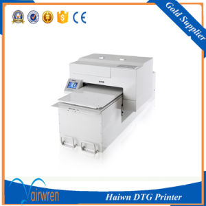 High Speed Digital DTG Textile Printer Large Format A2 Size T Shirt Printing Machine pictures & photos