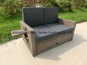 Gas Recliner Set Outdoor Rattan Sofa Garden Furniture pictures & photos