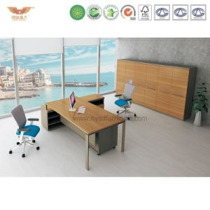 Modern Office Furniture L Shape Wooden Executive Desk (WOGUE-MD24) pictures & photos