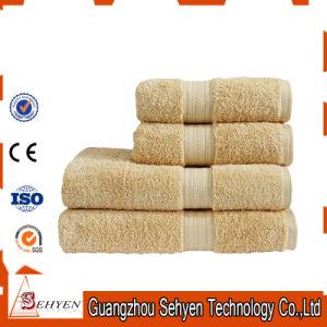 Super Absorbent Knitting Microfiber Coral Fleece Bath Towel pictures & photos