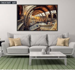 Unique Architecture Canvas Paitning From Photo pictures & photos