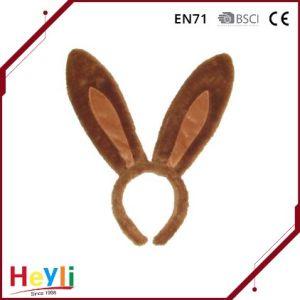 Latest Design Plush Cute Rabbit Ears Headbands Hairbands pictures & photos