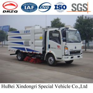 4cbm HOWO Street Road Sweeper Truck Euro 4 pictures & photos