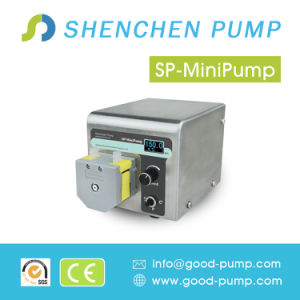 Shenchen LED Display Compact Mini Peristaltic Pump pictures & photos