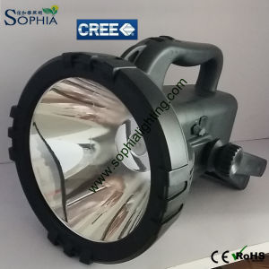 New Rechargeable 20W CREE LED Handlamp for Security Ce RoHS pictures & photos