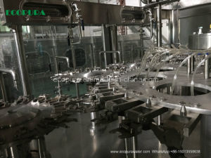 Soda Water Filling Machine / Gas Beverage Bottling Line pictures & photos