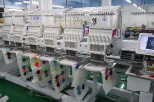 6 Head Cap Embroidery Machine for Industrial Use pictures & photos