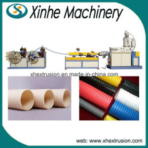 Single-Screw and Single-Wall Corrugated Plastic Extruder Machine Pipe Production Line