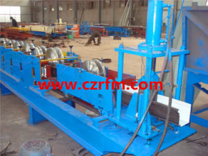 Jk Color Steel Round Roof Rain Gutter Roll Forming Line pictures & photos