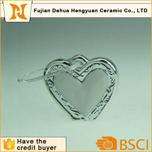 Ceramic Mini Heart Hanging Ornaments pictures & photos