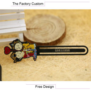 High Quality Copper Material Cartoon Bookmark pictures & photos
