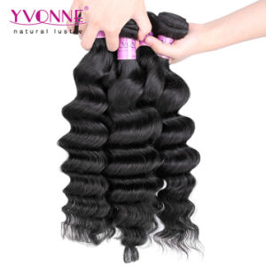 Hot Selling Unprocessed Virgin Peruvian Human Hair Weave pictures & photos