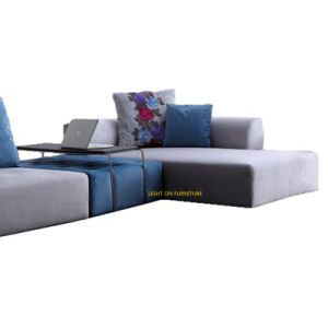 Modern Sectional Fabric Sofa with Armrest (F862) pictures & photos