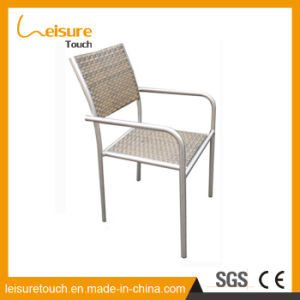 Outdoor Dining Set Patio Garden Furniture Wicker Cafe Stool Rattan Restaurant Beer Chair pictures & photos