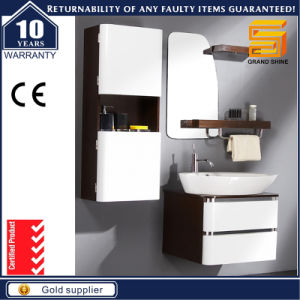 European Gloss White Painted Wall Mounted Bathroom Vanity Unit pictures & photos