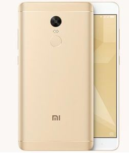 "N0te 4X Octa Core Smart Phone 5.5"" FHD 3GB RAM 32GB ROM 13MP Fingerprint Miui 8.1 Ota Gold pictures & photos"
