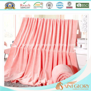 Promotional Customized Flannel Fleece Blanket pictures & photos