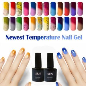Sexy Mix 8ml Temperature Color Changing UV Nail Long Lasting Gel Polish Varnish pictures & photos