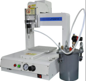 Automatic Three Axis Desktop Conductive Glue Dispenser Machine pictures & photos