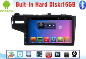 Android System GPS Navigation Car DVD for Honda Fit 10.1 Inch Capacitance Screen with Bluetooth/TV/WiFi/USB pictures & photos