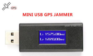 Mini Anti-Tracking Hidden LED Screen USB GPS Jammer Blocker pictures & photos