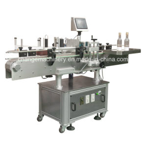 2016 hot sale automatic whiskey/wine bottle labeling machine pictures & photos