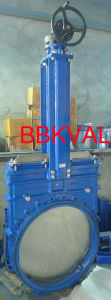 Knife Gate Valve, Non-Rising Stem with Gearbox pictures & photos
