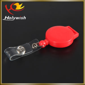 Cheap Custom Promotional Item Small Retractable Cable Reel pictures & photos