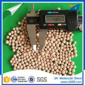 Xintao Ethanol Drying Molecular Sieve 3A 3.0-5.0mm pictures & photos