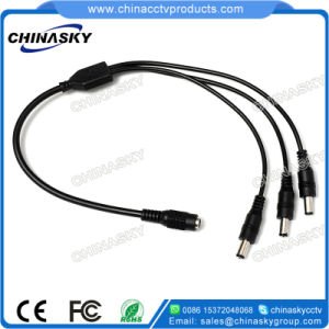 16AWG CCTV DC Power 1 to 3 Splitter Cable (SP1-3H) pictures & photos