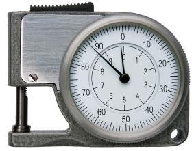 Measuring Tool Metric/Inch Dial Thickness Gauge pictures & photos