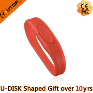 Red Wristband USB Flash Drive for Sports Gift (YT-6303) pictures & photos