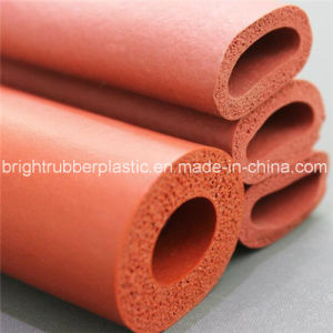 Custom Cut-out EPDM Rubber Sponge Tube for Sale pictures & photos