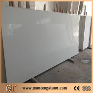 White Star Quartz Stone, White Glass Artificial Quartz Stone Tabletop pictures & photos