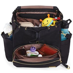 Stylish Polyesyer Baby Nappy Diaper Bag Backpack for Dad and Mom pictures & photos