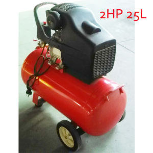 2HP 25L Direct Driven Piston Screw Air Compressor pictures & photos
