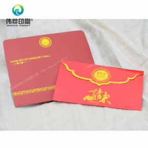 Paper Printing Happiness Invitation Card (with Envelope) pictures & photos