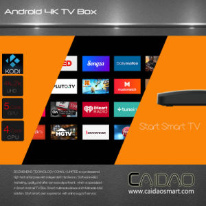2017 Android TV Box Caidao Tvbox S905X 2g/8g Kodi 16.1 Mate 4k Set Top Box Smart TV Box Smart Android Tvbox Fully Loaded pictures & photos