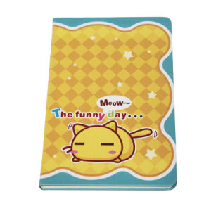 Lovely Printing Yellow Custom Paper Cover Cute Notebook pictures & photos