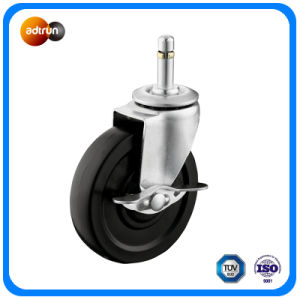 Light Duty Rubber Wheel with Brake pictures & photos