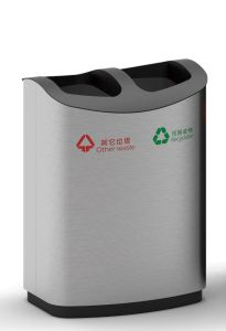 Outdoor Trash Bin for European Market with Good Quality (HW-510) pictures & photos