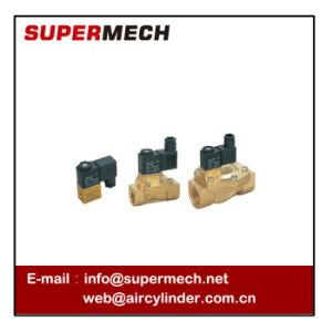 2V Two-Position Two-Way Air Water Solenoid Valve 24V 110V 220V pictures & photos