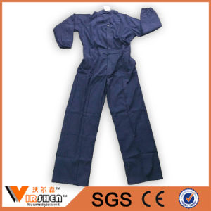 35% Cotton Cheapest Navy Blue Workwear Coverall pictures & photos