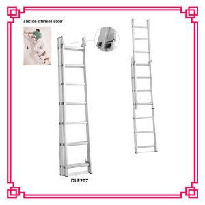2 Section Extension Aluminium Ladder pictures & photos